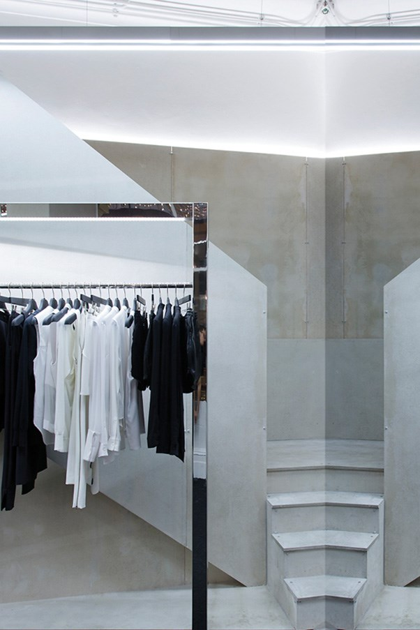 Dion Lee's new store in Sydney's Strand Arcade