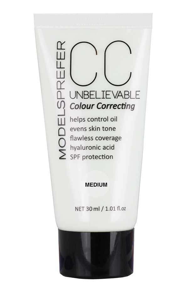 "<strong>OIL CONTROL<BR></strong> CC Cream, $16.99, Models Prefer, <a href=""http://priceline.com.au"">priceline.com.au</a> <p> One of the first CCs to hit the Australian market, Models Prefer CC Cream keeps an oily complexion in check with hyaluronic acid and sebo-absorbing ingredients."