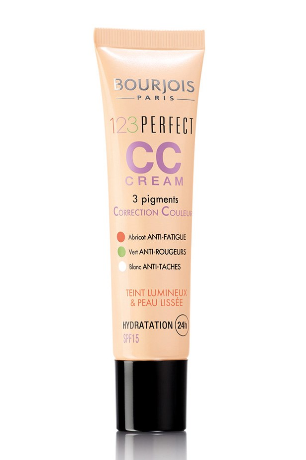 "<strong>PIGMENTATION FIX<BR></strong> 123 Perfect CC Cream Foundation, $25, Bourjois, <a href=""http://bourjois.com.au "">bourjois.com.au </a> <p> Containing apricot, green and white pigments, this foundation helps diminish the appearance of red, sallow skin for a luminous complexion."