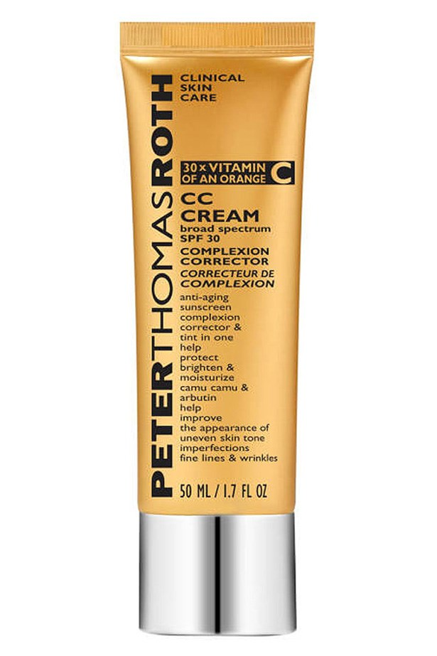 "<strong>ANTI-AGING<BR></strong> CC Cream, $52.95, Peter Thomas Roth, <a href=""http://kitcosmetics.com.au"">kitcosmetics.com.au</a> <p> Containing no chemical sunscreen, this CC is ideal for sensitive skin. Focusing on improving skin tone, while containing SPF30, makes it summer staple."