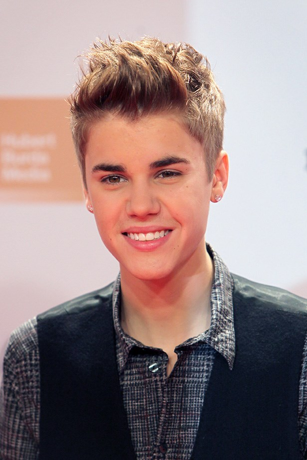 The Biebs got on board with highlights – check out this perfectly quaffed 'do from back in 2011.