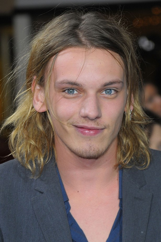 """Whether his balayage is intentional or not, Twilight star Jamie Campbell Bower's mussed lengths are """"devil may care""""."""