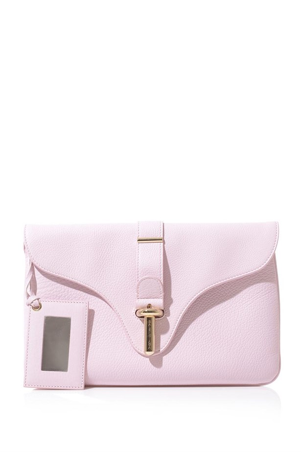 "Clutch, $801, Balenciaga, <a href=""http://www.matchesfashion.com "">matchesfashion.com </a>"