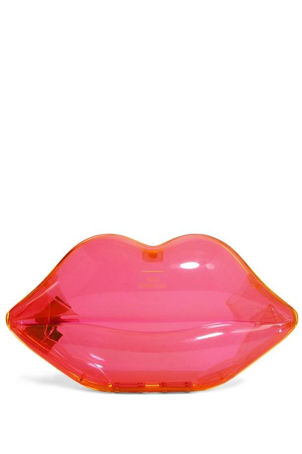 """Lips clutch, $496.71, Lulu Guinness, <a href=""""http://www.asos.com"""">asos.com</a>"""