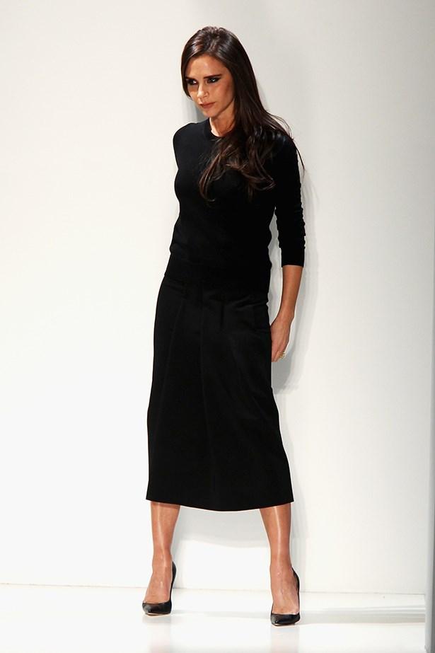 Victoria Beckham at her New York Fashion Week show