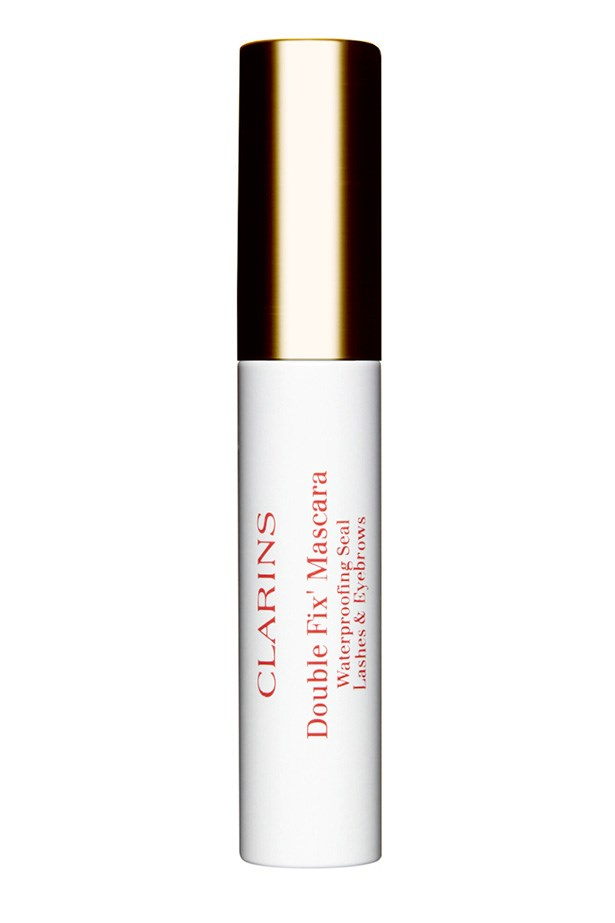 Double Fix Mascara, $38, Clarins, 02 9663 4277 Made up of ultra-fine waxes for long-lasting properties, this brow gel works overtime to keep your brows in place.