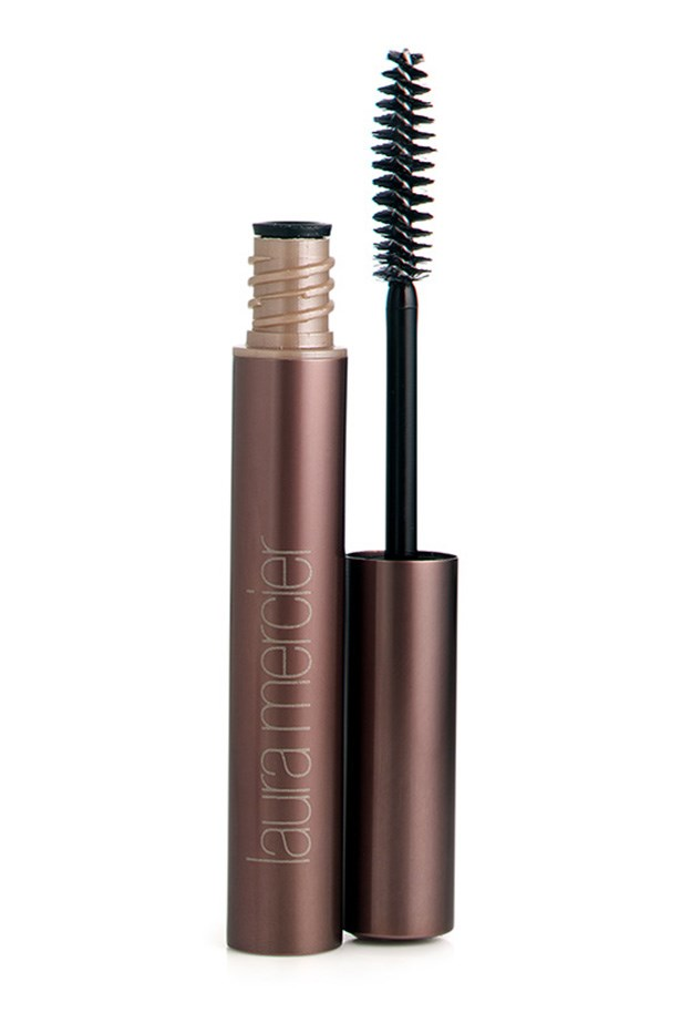 Eye Brow Gel, $30, Laura Mercier, 02 9663 4277 This clear formula can be used to seal brow powder or on its own for a natural, polished look.