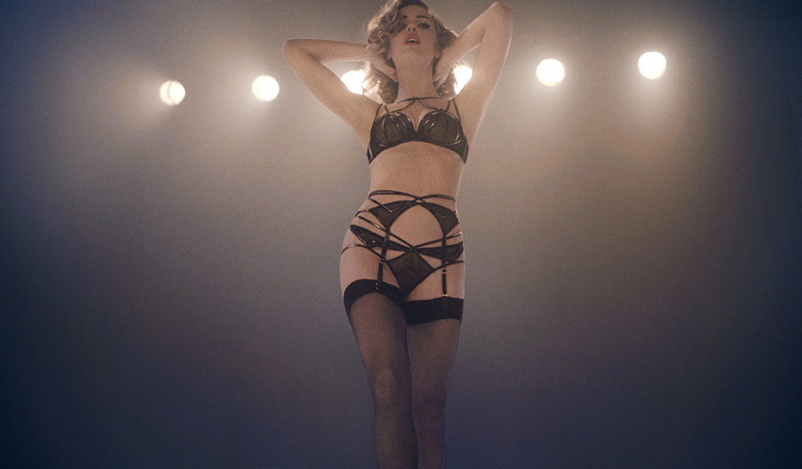 Australian actress Melissa George for Agent Provocateur