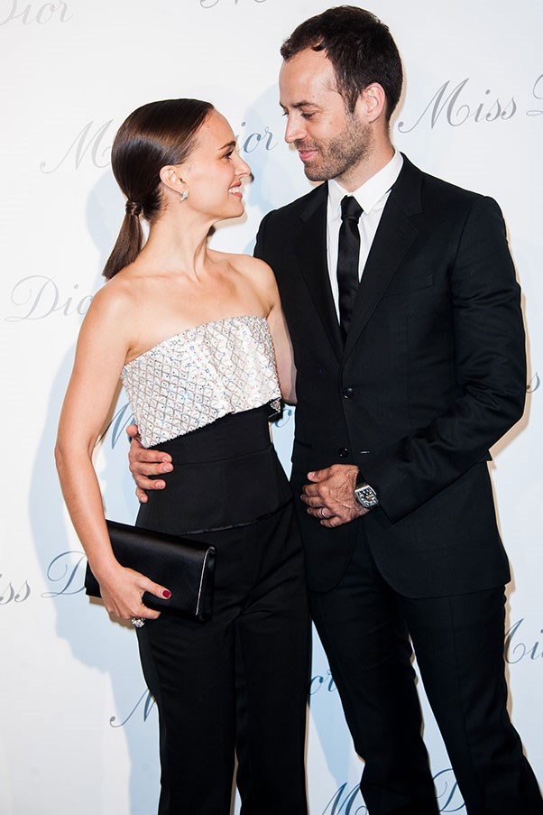 WHO: Natalie Portman and Benjamin Millepied <br> THE DATE: Attending a lecture about the influence of the Gertrude Stein legend in contemporary depictions of expatriates, then a heated debate about its relevance.