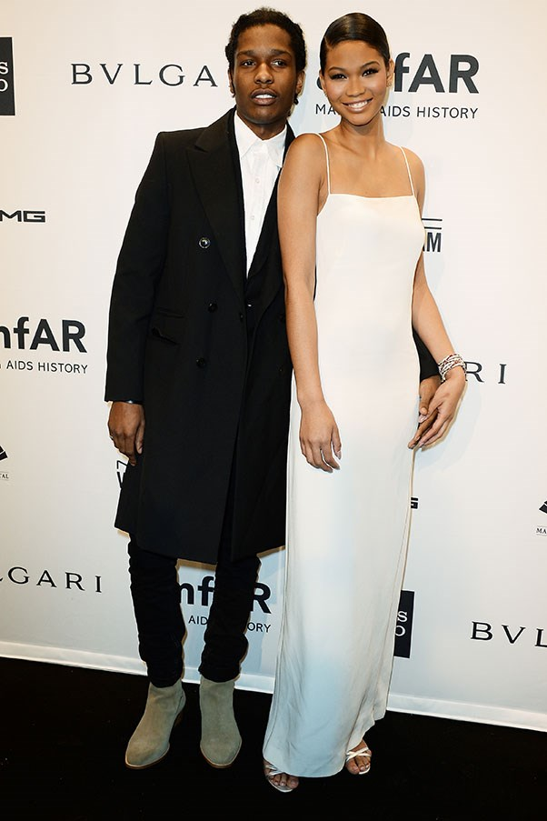 WHO: Chanel Iman and A$AP Rocky <br> THE DATE: Dancing all night at Soho House, followed by an after-after party at Beyonce and Jay Z's place.