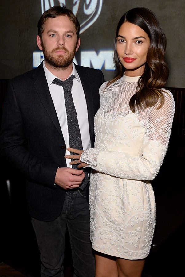 WHO: Lily Aldridge and Caleb Followill <br> THE DATE: Horse riding under the stars together at their Nashville ranch, with plenty of breaks for Instagramming.