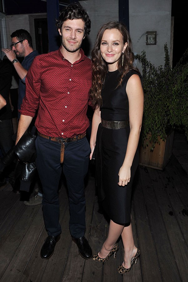 WHO: Adam Brody and Leighton Meister <br> THE DATE: A surprise snorkelling trip to Belize, completed by brand new pairs of his'n'hers tropical printed flippers.