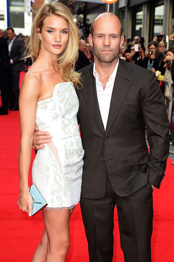 WHO: Rosie Huntington-Whiteley and Jason Statham <br> THE DATE: A special fireworks display designed by Michael Bay, as a precursor to a night of explosive love making.