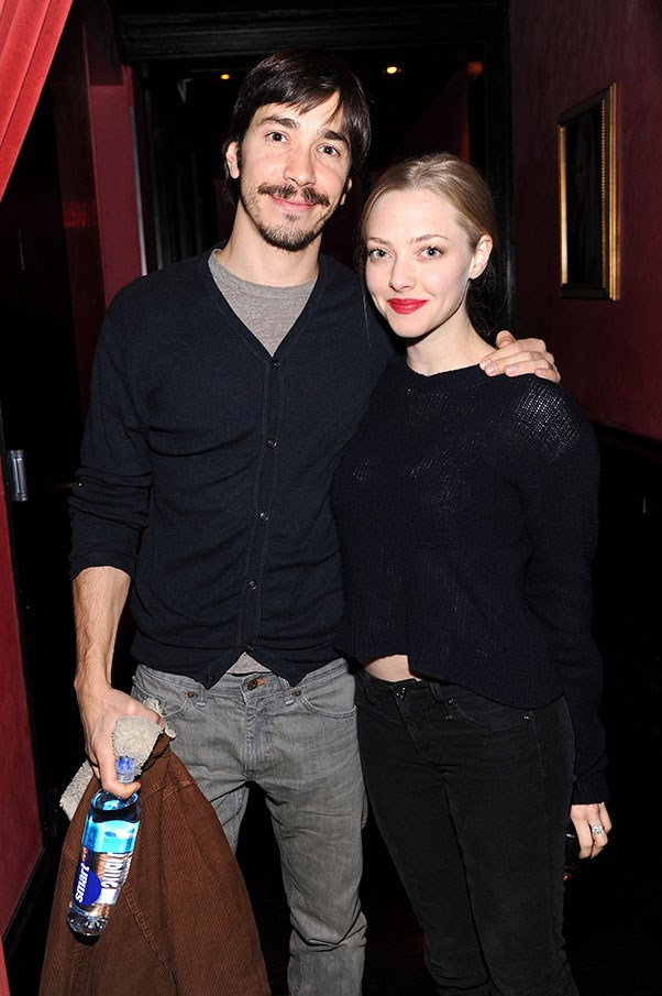 WHO: Amanda Seyfried and Justin Long <br> THE DATE: An indoor tetherball match that gets a little out of hand, then a Devonshire tea to wind down and re-group.