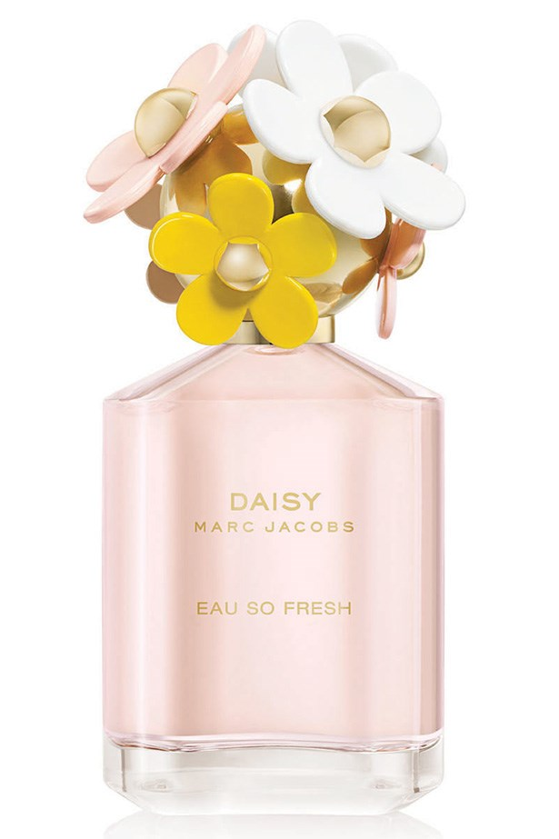 Daisy Eau So Fresh, $145 for 125ml, Marc Jacobs, 1800 812 663 <p>Light and fruity, Daisy Eau So Fresh all about whimsy and fun – the perfect ingredients for an innocent rendezvous.