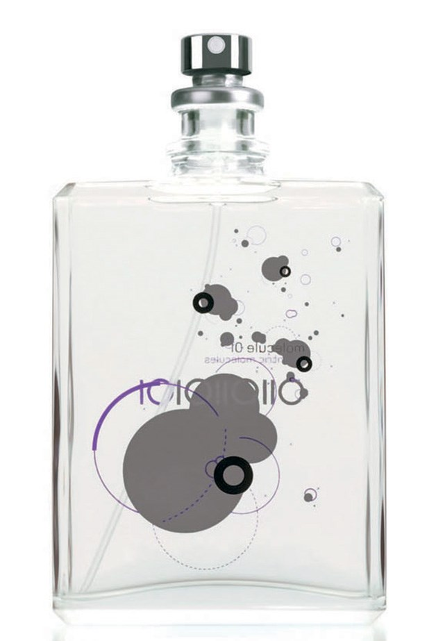 """Molecule 01, $140 for 100ml, Escentric Molecule, <a href=""""http://meccacosmetica.com.au"""">meccacosmetica.com.au</a> <p>Molecule 01 blends with your pheromones for a one-of-a-kind scent."""