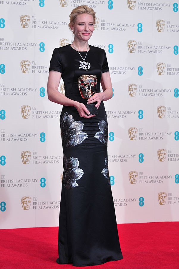 Wearing Alexander McQueen was already a winning move, but Cate Blanchett also picked up the trophy for Best Actress.