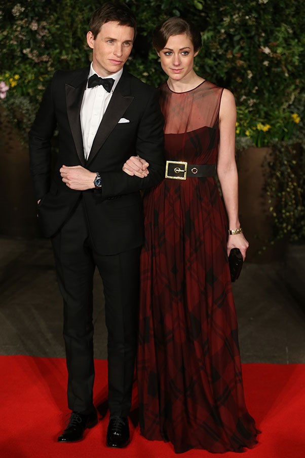 Cheer up ladies!  Eddie Redmayne may be very officially dating Hannah Bagshawe – but while he may not be single, he still has excellent taste in suits (this one is Gucci).