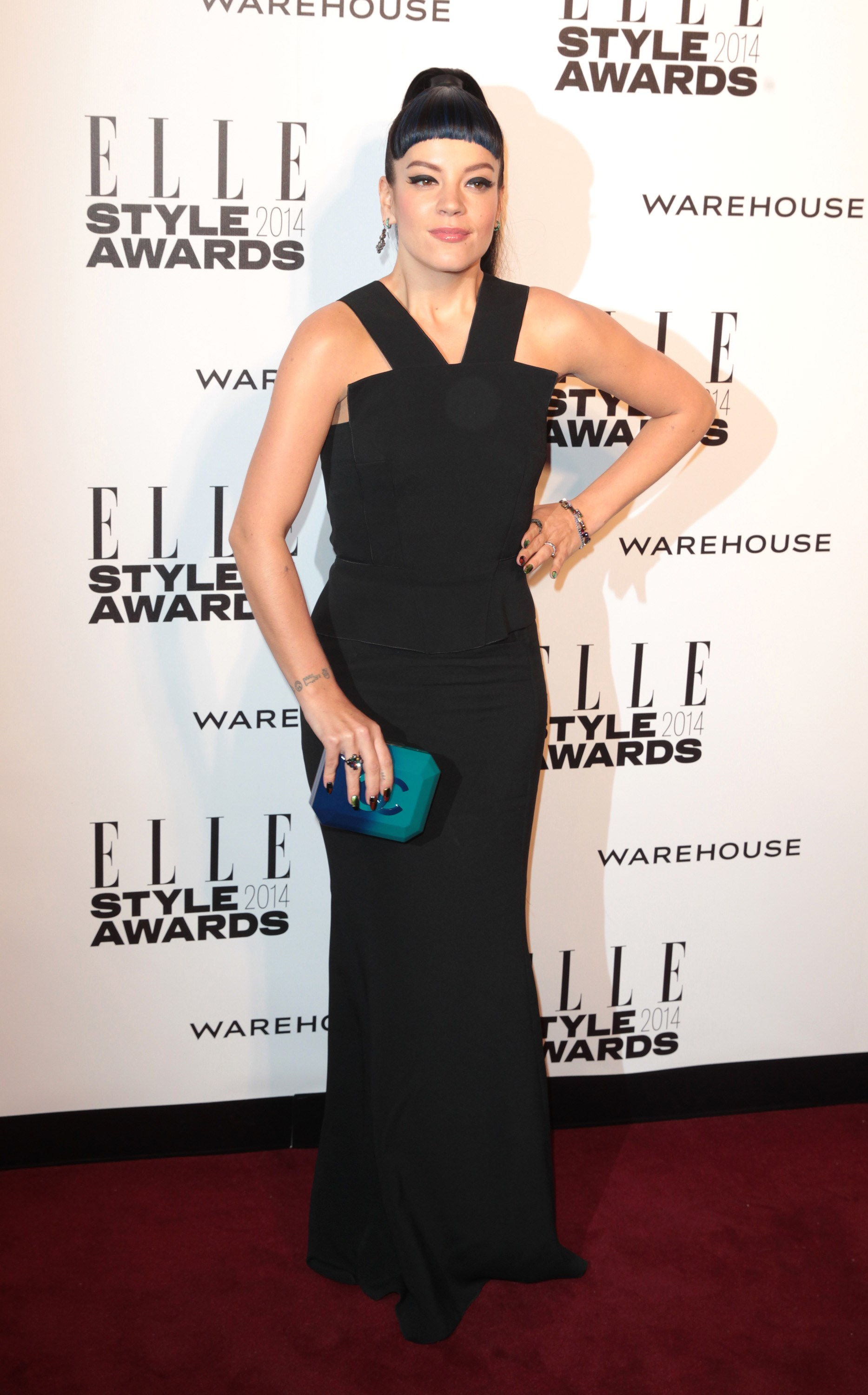 Lily Allen at the 2014 ELLE Style Awards