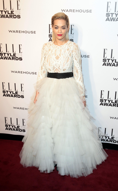 Rita Ora at the 2014 ELLE Style Awards