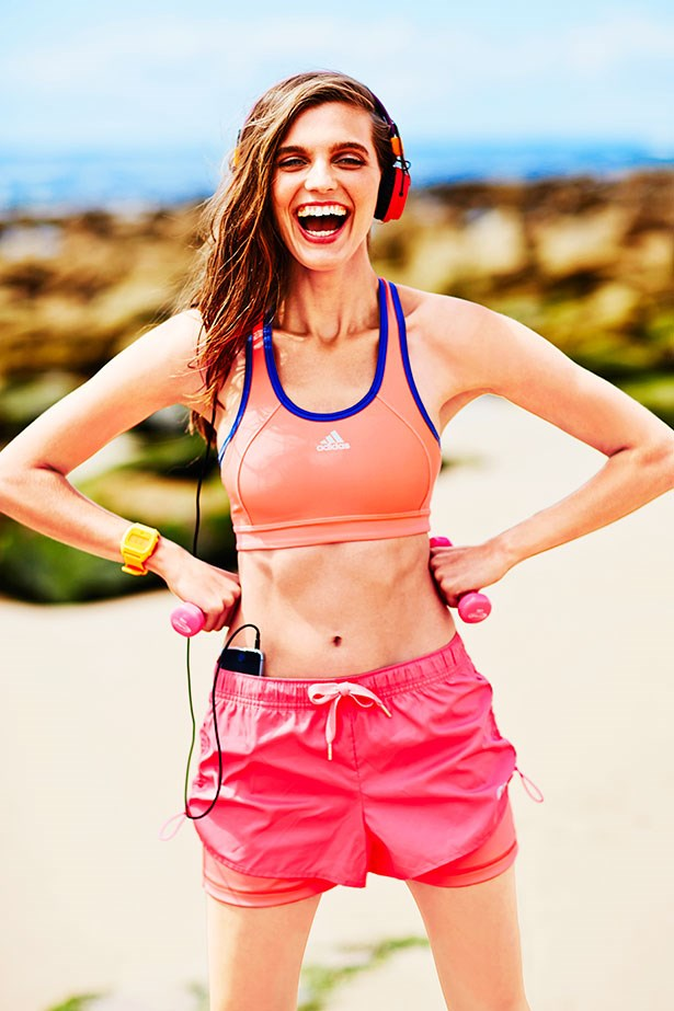 <strong>Rule #2: Jump, don't bounce</strong><br> Yes, it's about looking good but make sure your colourful crop tops offer excellent support. When trying on a top or sports bra, jump up and down in the change room to see if it's going to hold everything in place on the treadmill.