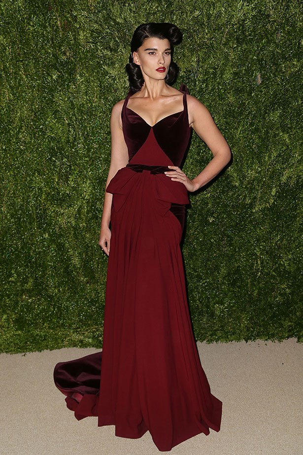 <strong>Crystal Renn</strong><br> The American model struggled with anorexia, then became a plus-size hit. She now hikes and does yoga to maintain a healthy weight.