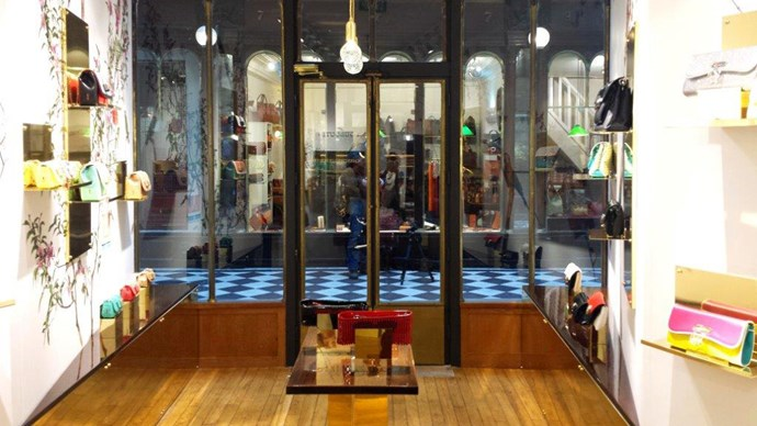 Christian Louboutin pop up store in Paris