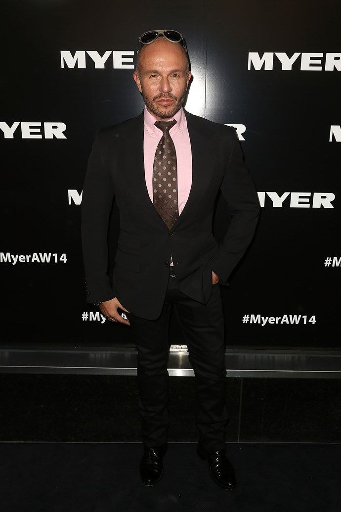 Alex Perry at the Myer AW14 fashion show in Melbourne
