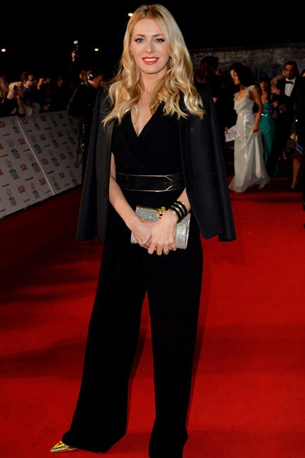 No need to head to the coat-check, hang your blazer from the shoulders like Tess Daly did with her Max Mara jacket at the National Television Awards 2014.
