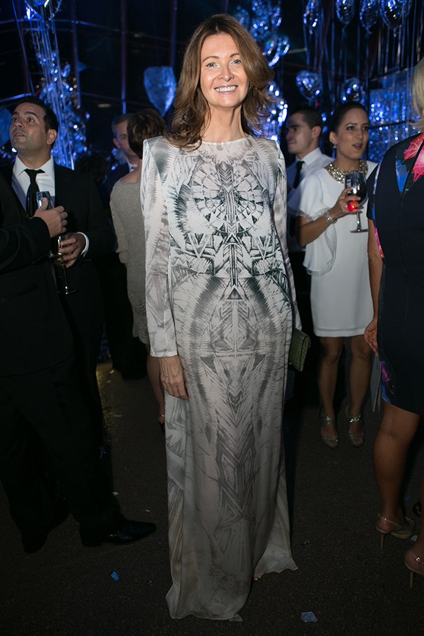 Karin Upton-Baker at the 2014 Silver Party