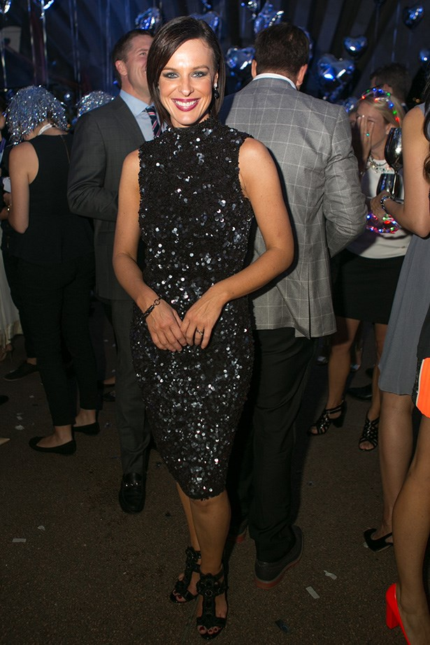Natarsha Belling at the 2014 Silver Party