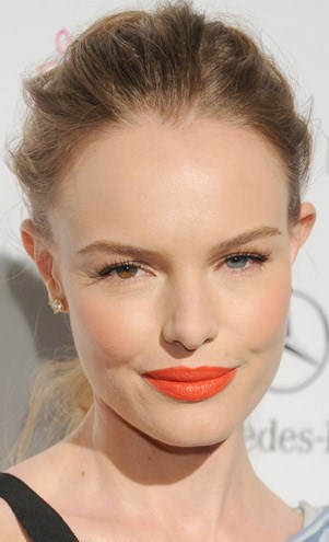 Kate Bosworth with orange lips