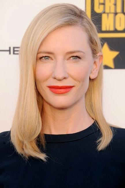 Cate Blanchett at the Critics' Choice Movie Awards 2014.