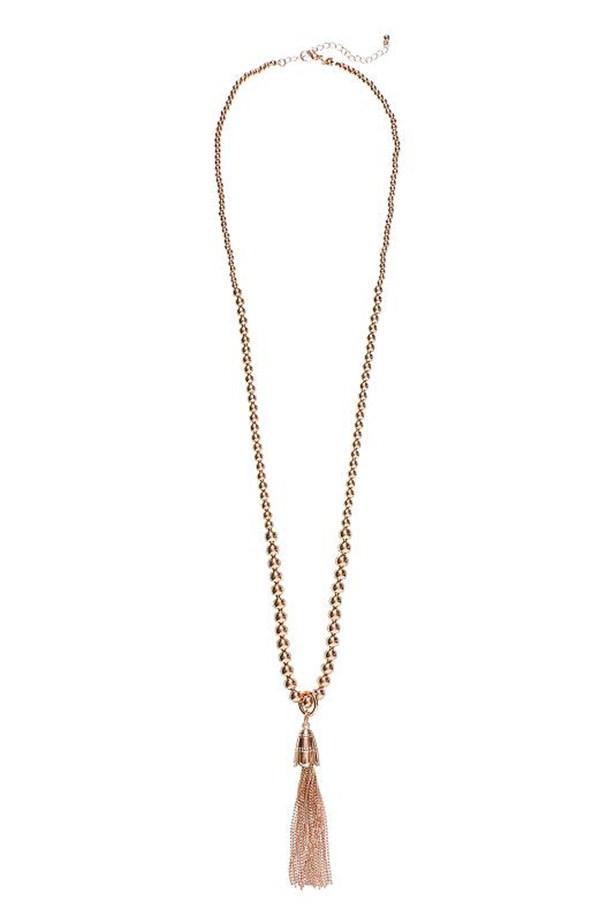 Necklace, $39.95, Seed, seedheritage.com