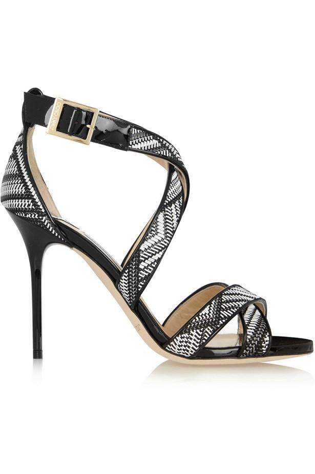 Shoes, approx. $677, Jimmy Choo, net-a-porter.com
