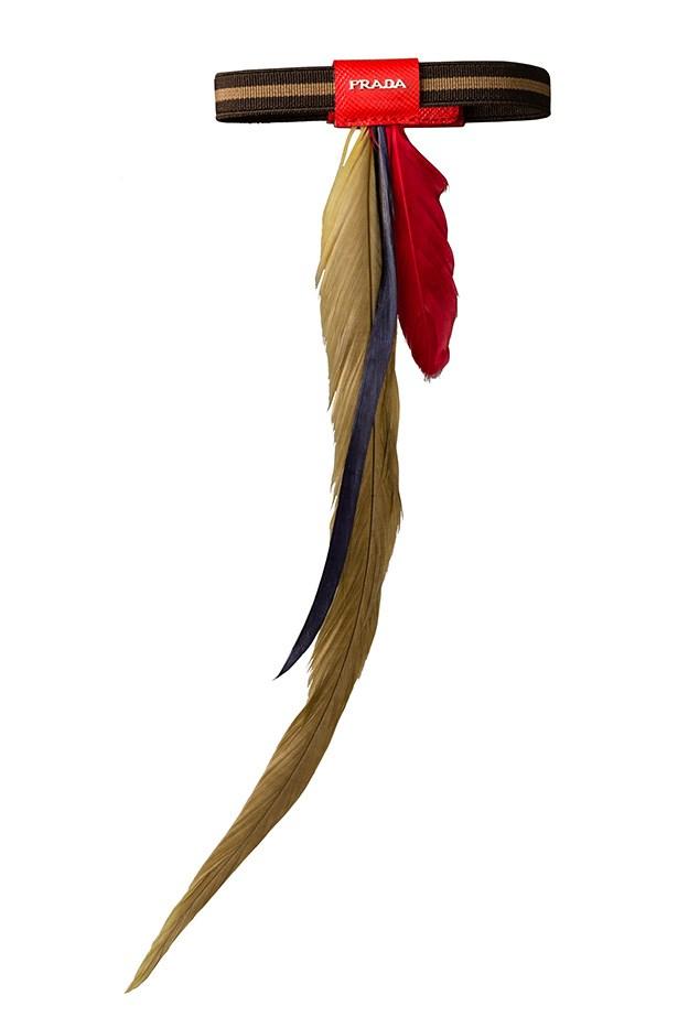 Bracelet, $320, Prada, (02) 9223 1688