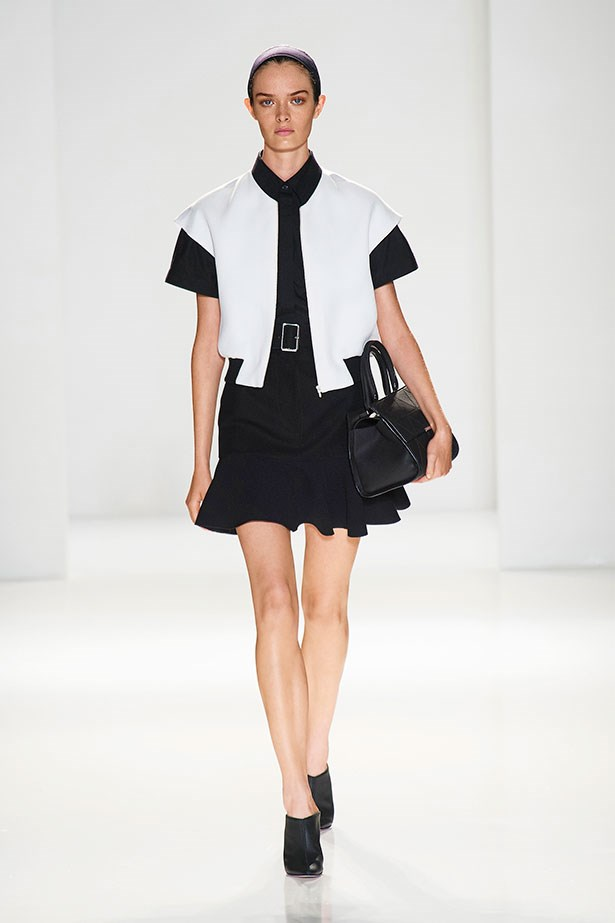 <br><strong>Sporty</strong></br> Sporty is going to be hard (OK, impossible) to avoid this season. Thankfully, this time round there's a grown-up take. Generally, designers have enlisted basic shapes and turned them out in innovative fabrics. Victoria Beckham presented an updated baseball jacket that was a winner in graphic black and white. Let VB inspire you and leave the rugby shirt in the hamper.