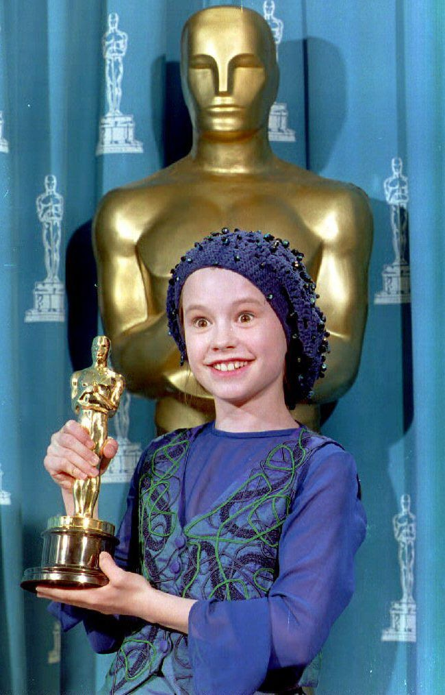<strong>Anna Paquin, 1994</strong><br> At just eleven years old, this New Zealand local won Best Supporting Actress for The Piano and became the second youngest person to take home an Oscar. Close to hyperventilation, Paquin composed herself and (adorably) made a short and sweet speech. Who would have guessed her future-self would be getting down and dirty with vampires as Sookie Stackhouse in True Blood?
