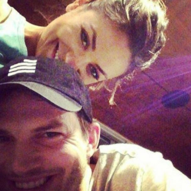 'I love you @kutcher78', read the caption of Kunis' Instagram photo