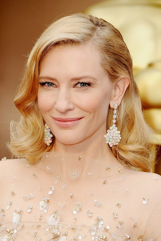 Cate Blanchett opted for her usual ethereal glow, and old-Hollywood finger-waved hair - cause if it ain't broke, don't fix it.