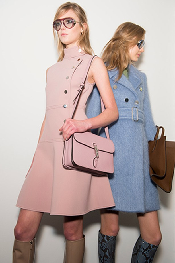 Pastel pinks at Gucci AW14-15