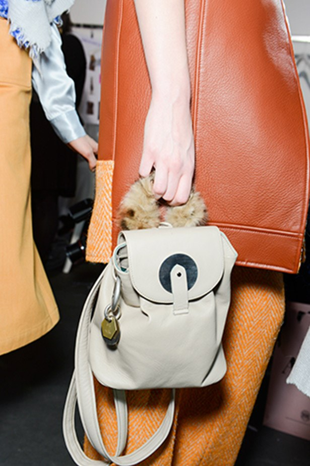 Mini backpack by Acne.