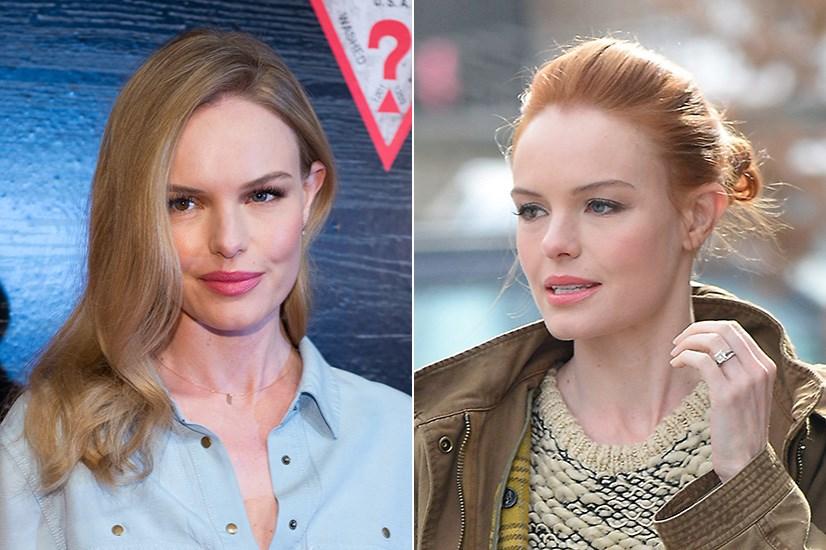 Kate Bosworth dyed her light blonde locks for her role in <em>Still Alice</em>.