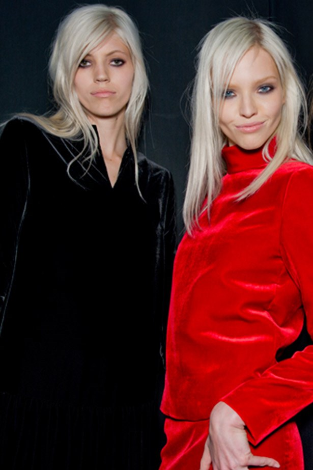 Models Devon Windsor and Sasha Luss are leading the charge.