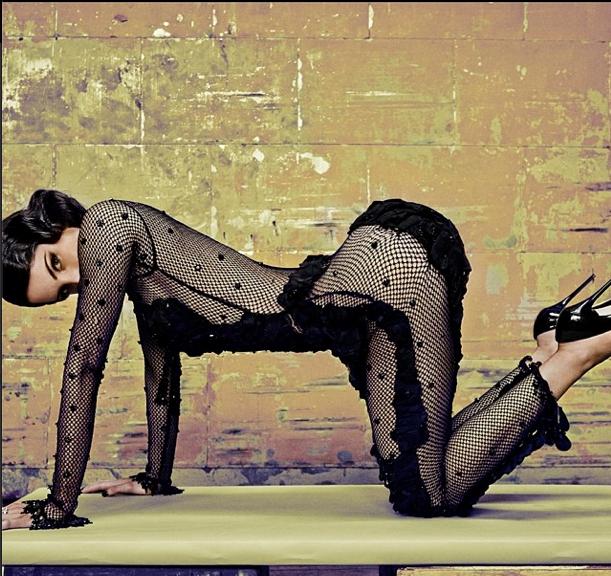 Jen Selter featured in <em>Vanity Fair</em>