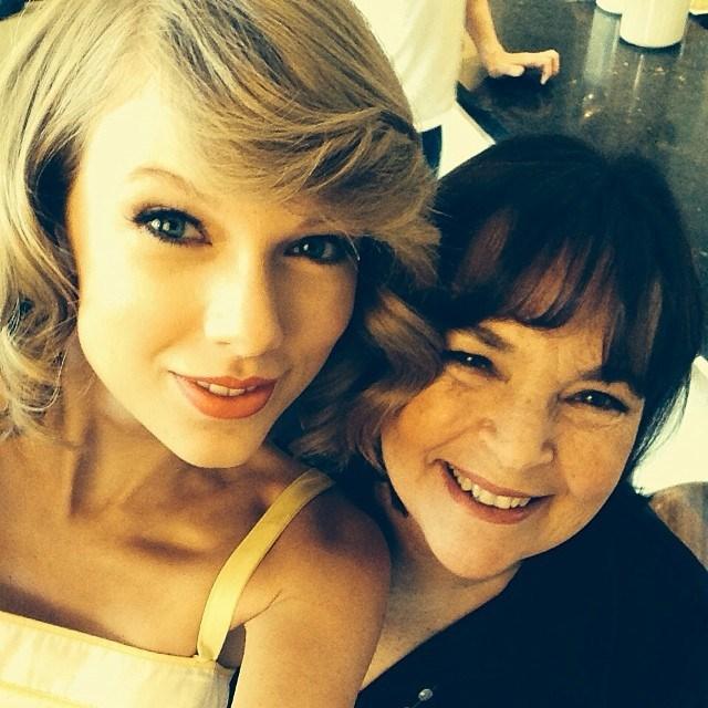 Taylor Swift and <em>The Barefoot Contessa's</em> Ina Garten