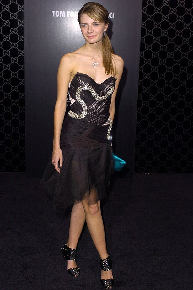 Mischa Barton wearing Gucci in 2004.