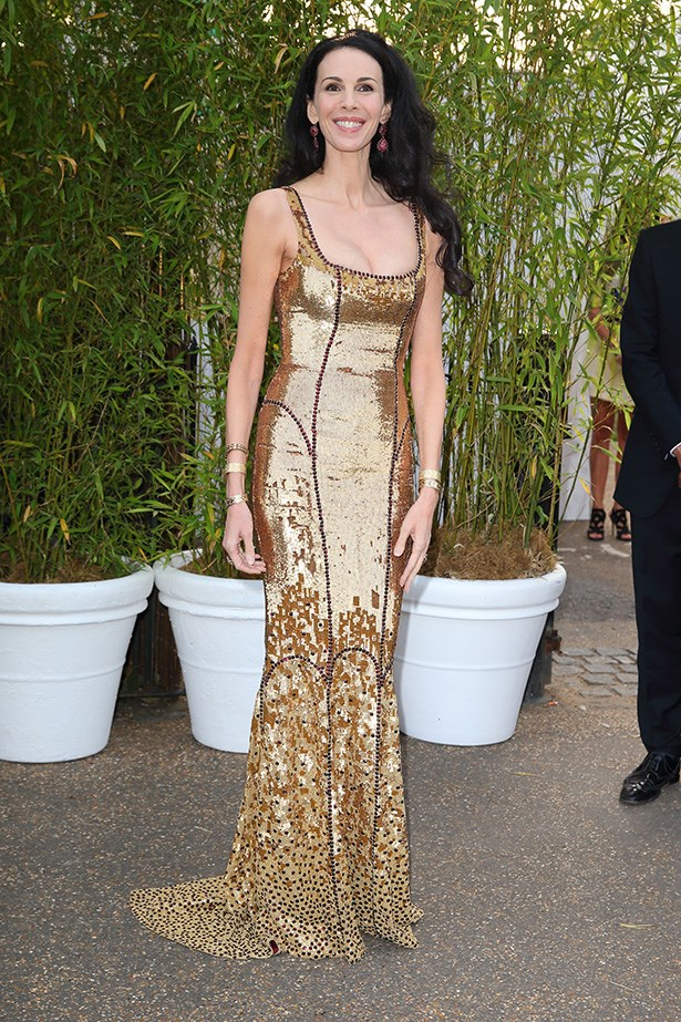Scott looked incredible in a gold floor-length dress at the Serpentine Gallery Summer Party last year.