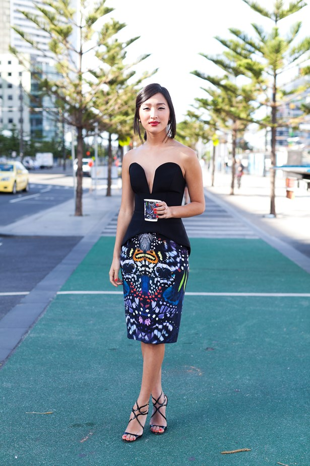 Nicole Warne wearing Michael Lo Sordo at VAMFF <br><br>Photography: Liz McLeish