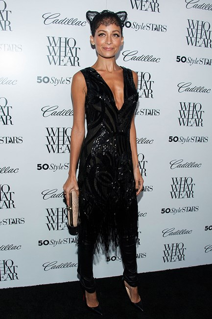 Nicole Richie proves this look can be worn at any occasion.